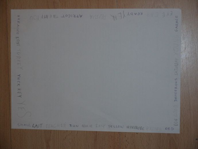 Angolul játszottunk szóláncot